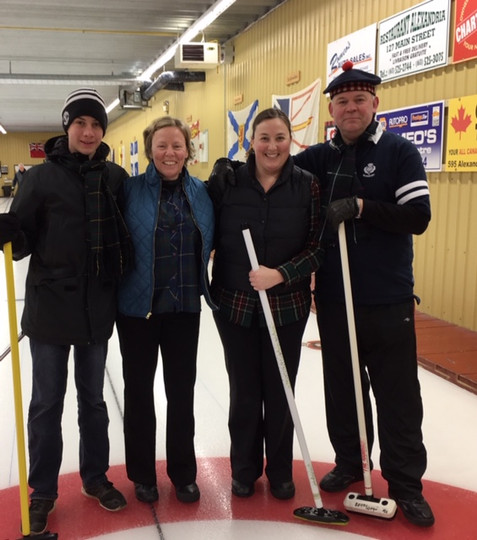 MacLeod Curling Team