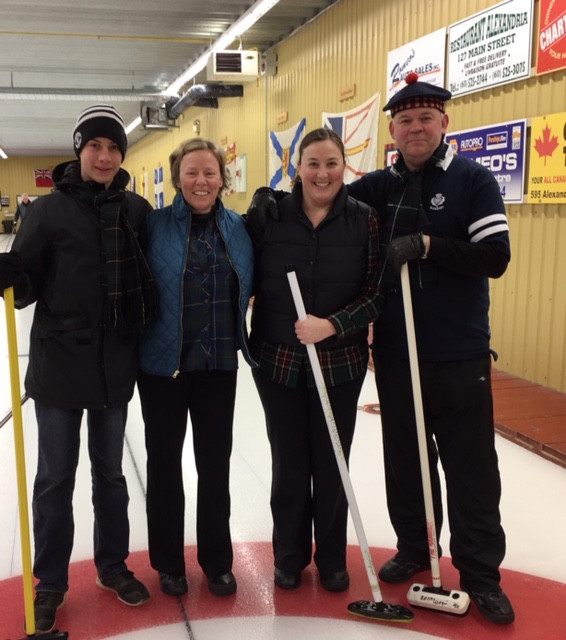 MacLeod Curling Team