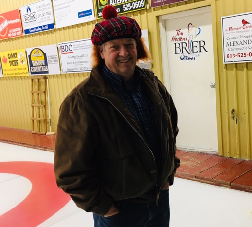 Our friendly Club Iceman Jim Poulton