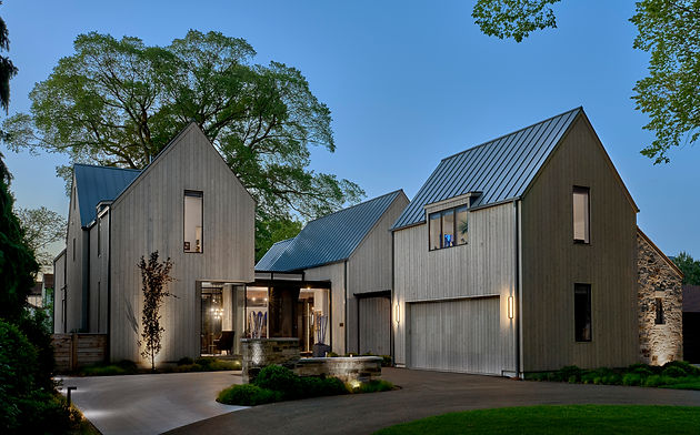 Contemporary Residential Architecture in Hinsdale, Illinois by Moment Design