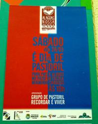 Cartaz Apresentação do Pastoril