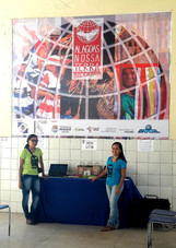 Banner Pátio da Escola e Camisetas