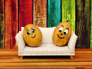 Gewürzte Couch-Potato`es zum Frühstück