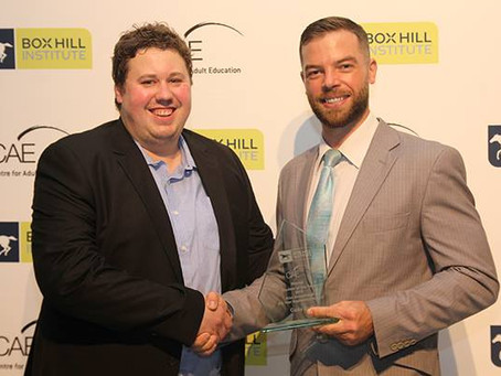 Airmaster Apprentice named Box Hill Institute Apprentice of the Year