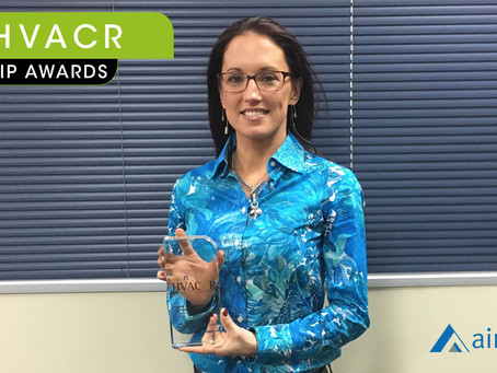 Airmaster's Kelli McDonald named Woman of the Year at HVAC&R Leadership Awards