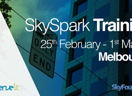 Conserve It to host SkySpark training