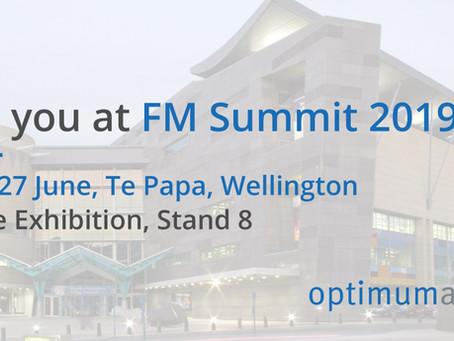 Optimum Air to exhibit at FM Summit 2019