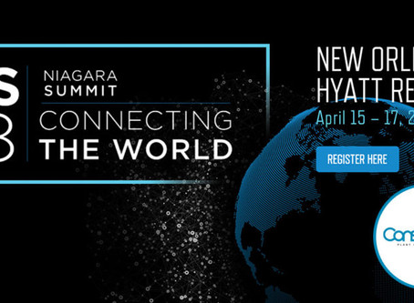 Conserve It selected as Gold Sponsor of Niagara Summit 2018