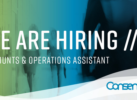 Position Available: Accounts and Operations Assistant