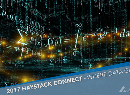 Haystack Connect 2017 – Where Data Gets Real