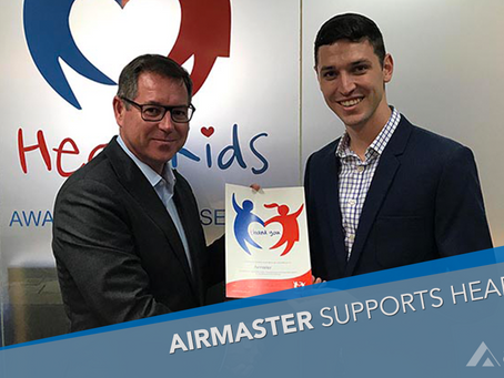 Airmaster raise much-needed funds for HeartKids