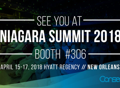 Conserve It to present at various Niagara Summit 2018 sessions