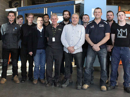 Airmaster apprentice Brandon Miller awarded Industry Education Trade Scholarship