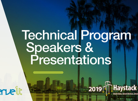 Haystack Connect 2019 Announces Technical Program Speakers and Presentations
