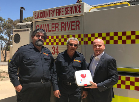 Airmaster South Australia support Country Fire Services
