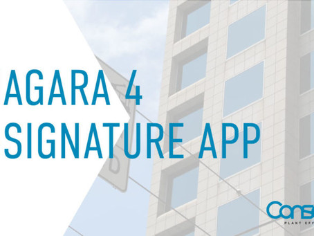 Regulatory compliance made easier by new Niagara 4 application