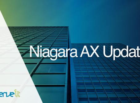 Niagara AX 3.8u3 introduces enhancements mirrored by Niagara 4