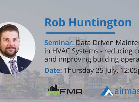 Airmaster's Rob Huntington to present at FM in WA Conference
