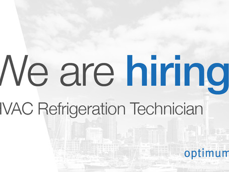 Position Available: HVAC Refrigeration Technician