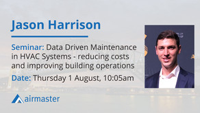 Airmaster's Jason Harrison to present at AIRAH Forum