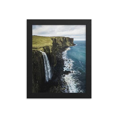 Kilt Rock, Isle of Skye Framed Photo