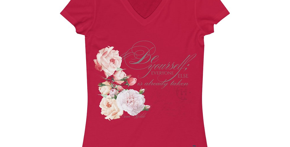 V-Neck Tee - Oh my Wilde - Ballet Collection