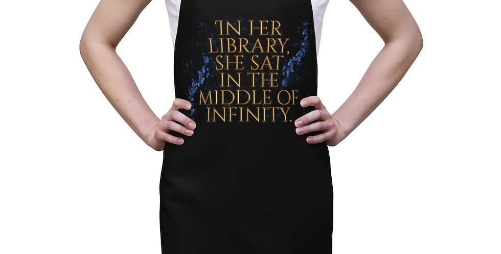 Apron - Unwritten / In her library - Authors Collection