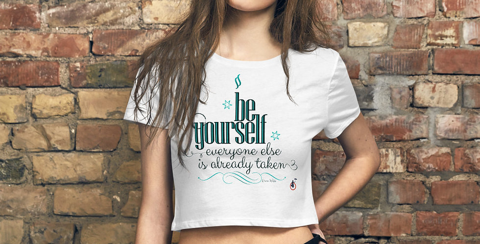Stylish Crop Tee - Oh my Wilde - Carrousel Collection