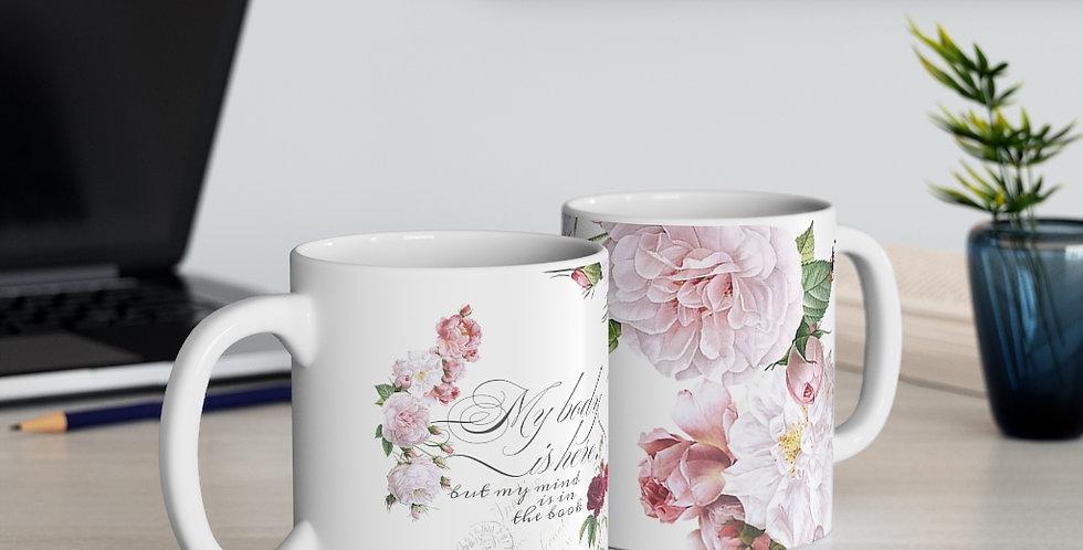 Mug - Mind & Body (White) - Ballet Collection