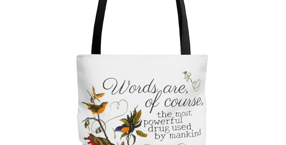 Tote Bag - Oh my Kipling (White) - Cottage Collection