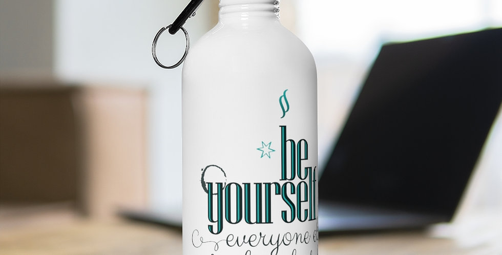 Stainless Steel Water Bottle - Oh my Wilde - Carrousel Collection