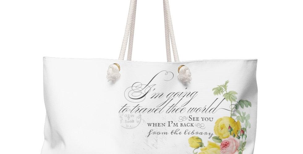Weekender Bag - Joyride (White) - Ballet Collection
