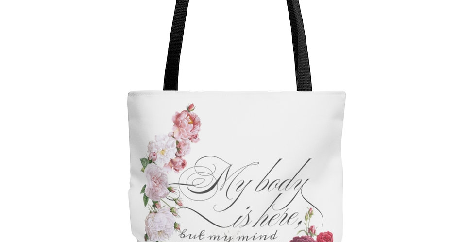 Tote Bag - Mind & Body (White) - Ballet Collection
