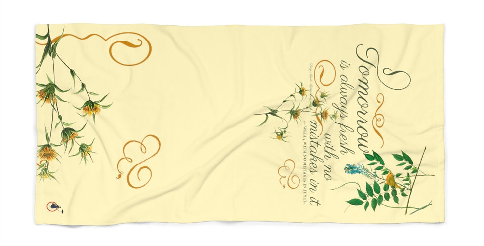 Beach Towel - Oh my Montgomery - Cottage Collection