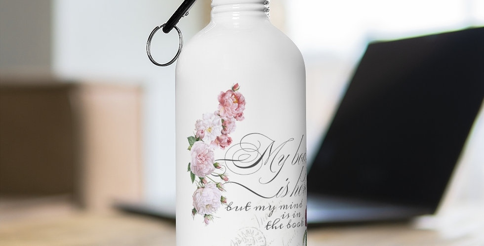 Stainless Steel Water Bottle - Mind & Body - Ballet Collection