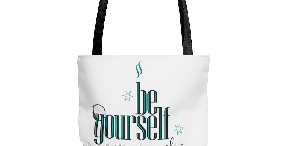 Tote Bag - Oh my Wilde (White) - Carrousel Collection