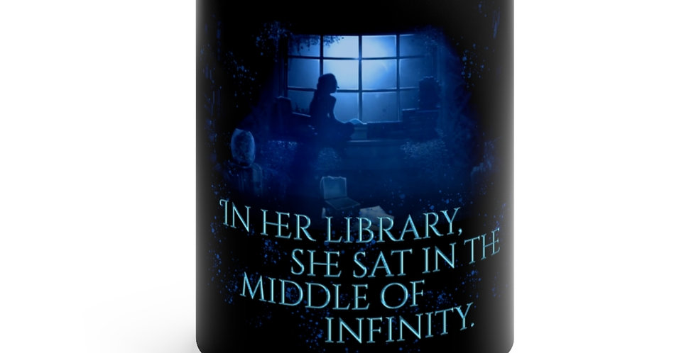 Ceramic Mug - Unwritten / In her library - Authors Collection