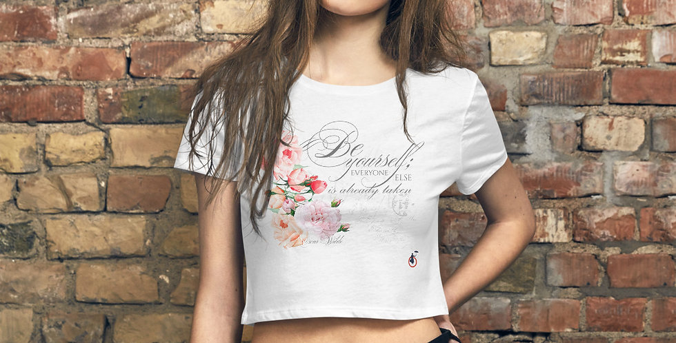 Crop Tee - Oh my Wilde - Ballet Collection