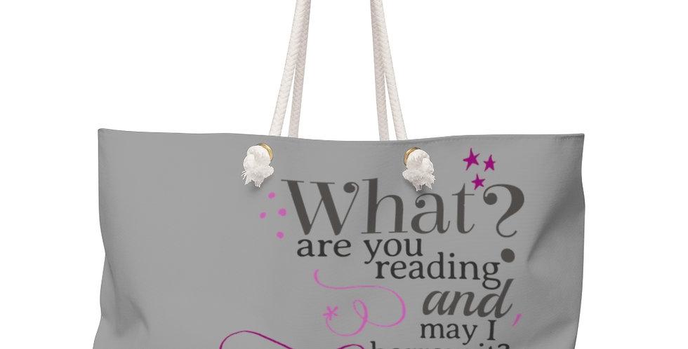 Weekender Bag - Bye Bye - Carrousel Collection