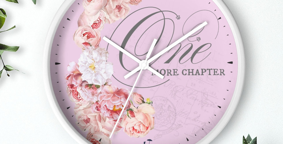 Wall clock - 1+CH - Ballet Collection
