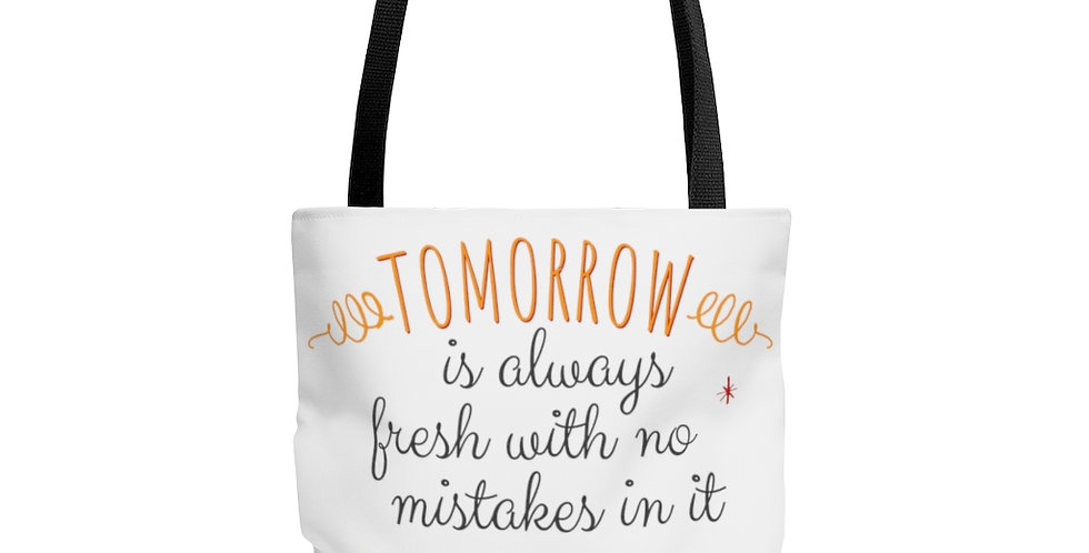 Tote Bag - Oh my Monrtgomery (White) - Carrousel Collection