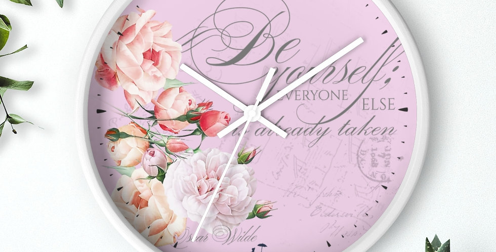 Wall clock - Oh my Wilde - Ballet Collection
