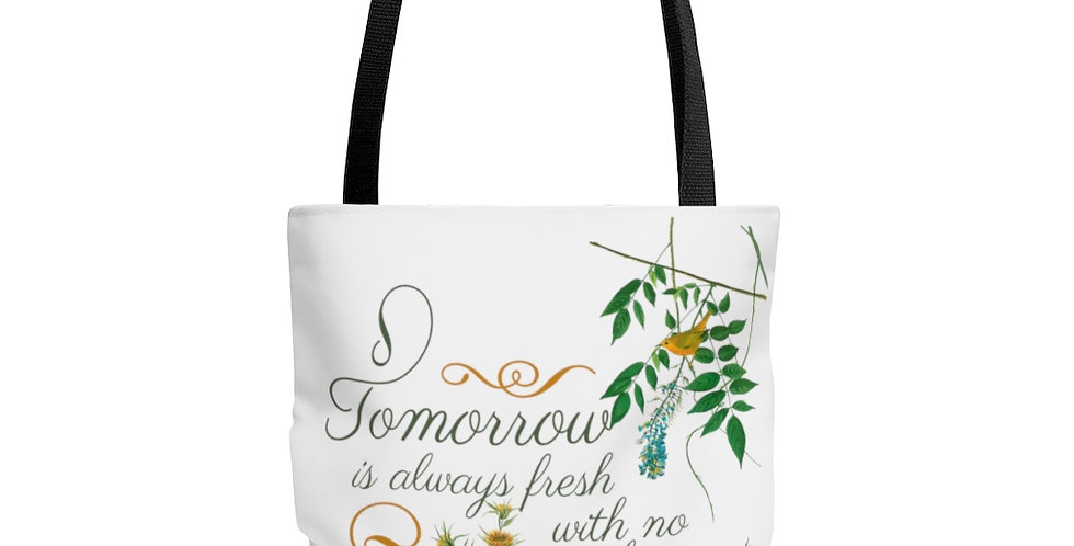 Tote Bag - Oh my Montgomery (White) - Cottage Collection