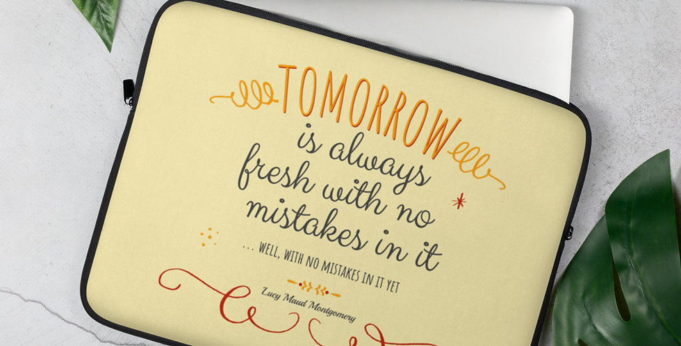 Laptop Sleeve - Oh my Montgomery - Carrousel Collection