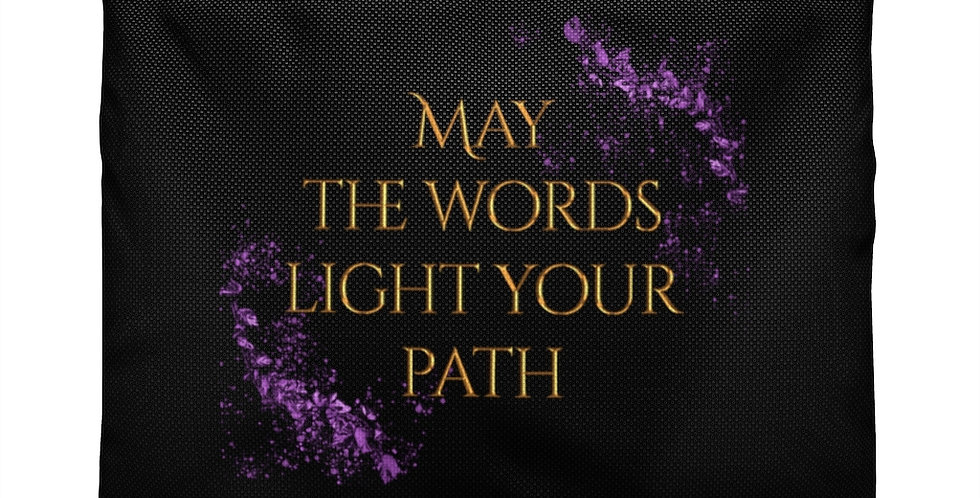 Accessory Pouch - Unwritten / May the words light your path - Authors Collection