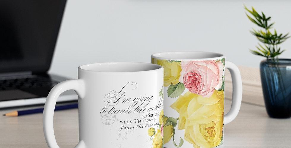 Mug - Joyride (White) - Ballet Collection