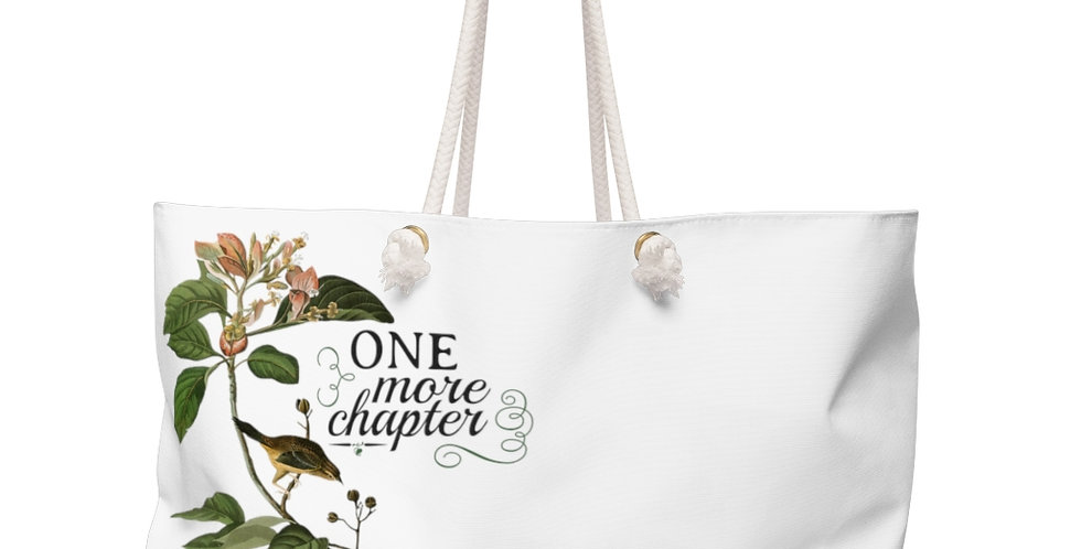 Weekender Bag - 1+CH (White) - Cottage Collection