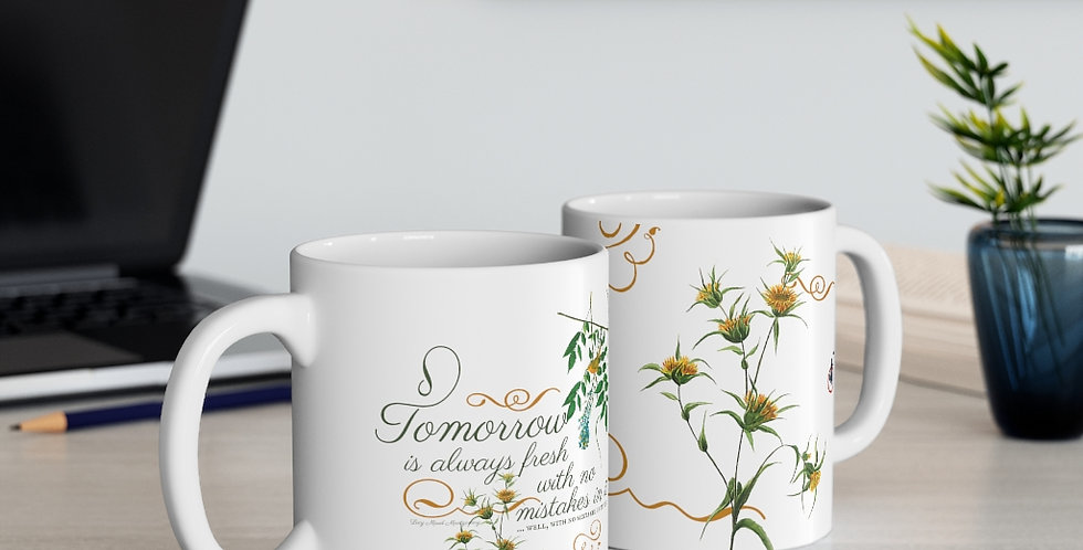 Mug - Oh my Montgomery (White) - Cottage Collection