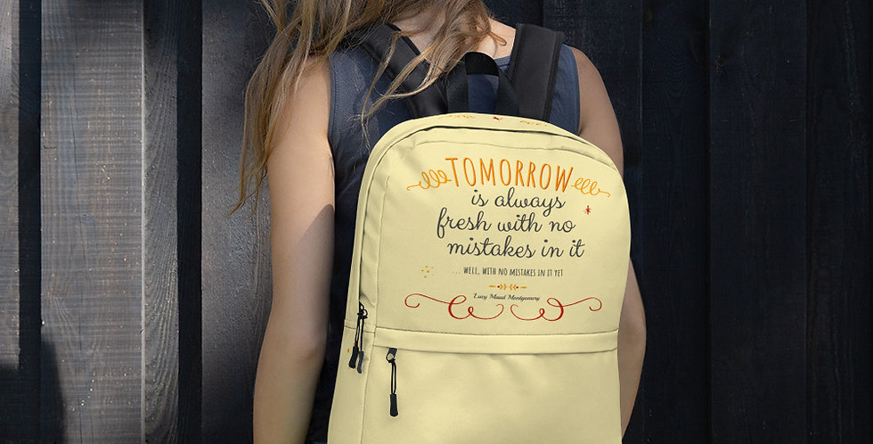 Backpack - Oh my Montgomery - Carrousel Collection