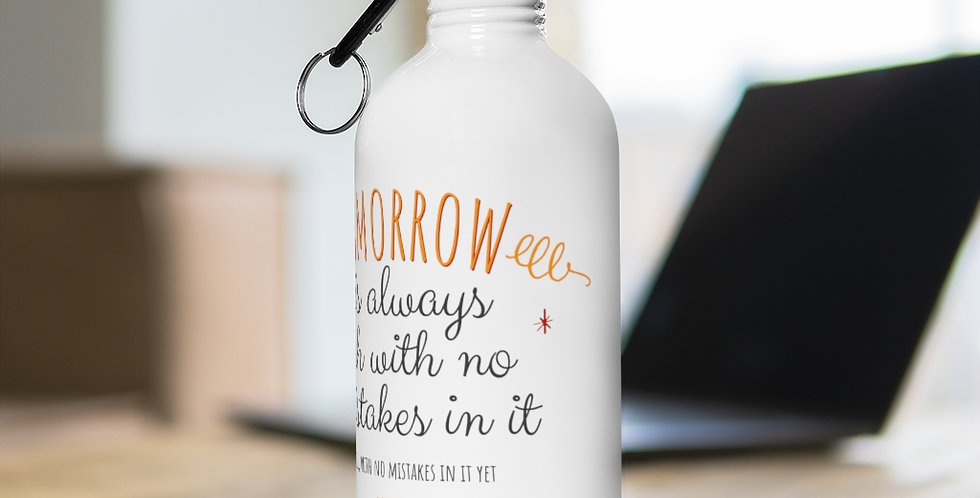 Stainless Steel Water Bottle - Oh my Montgomery - Carrousel Collection